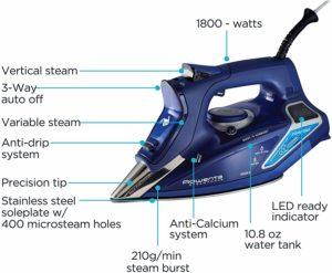 Rowenta steam iron review
