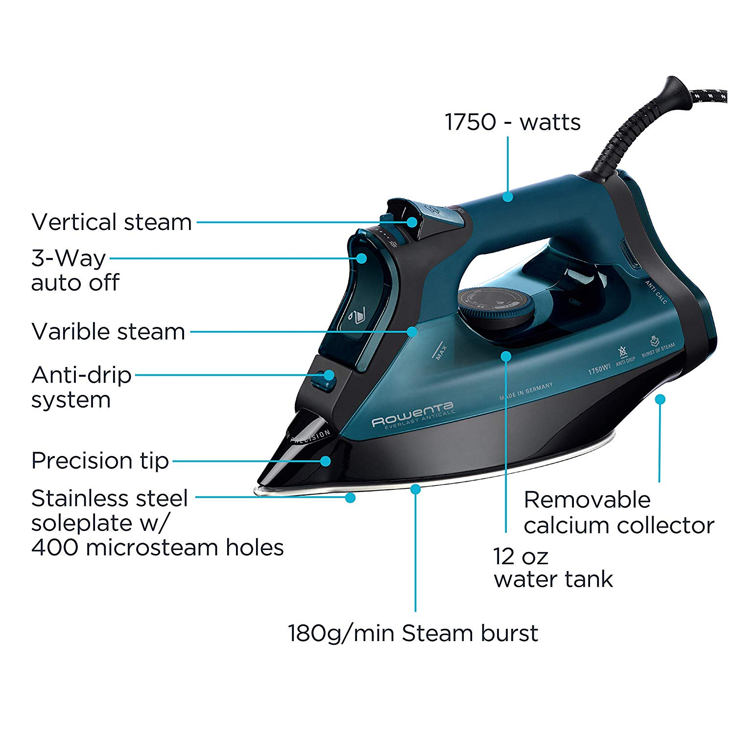 best steam iron for clothes reviews