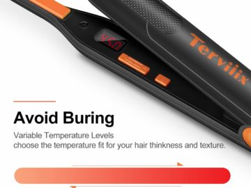 Terviiix Small Flat Iron for Short Hair Review