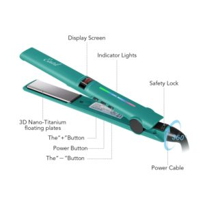 Features of Entil Hair Straightener