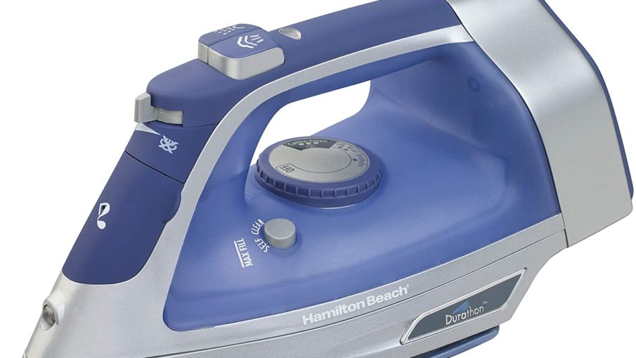 Hamilton Beach Steam Iron with Retractable Cord