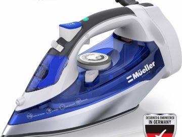 Mueller steam iron with retractable cord Reviews