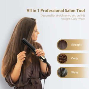 all in one professional flat iron