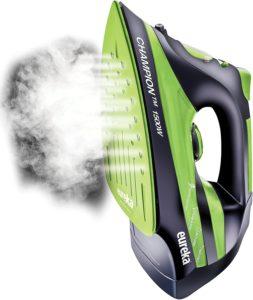 Burst of steam