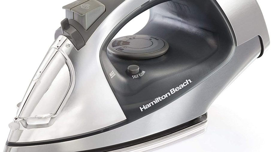 Hamilton Beach Retractable Cord Steam Iron