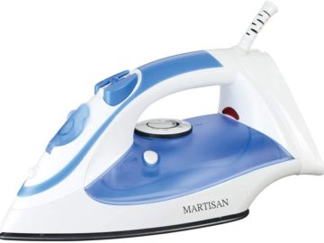 Inexpensive steam iron