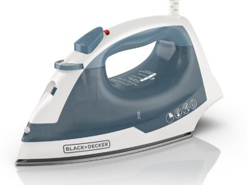 BLACK and DECKER Easy Steam Compact Iron IR40V Review