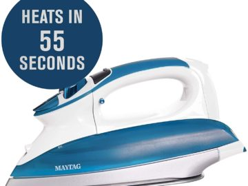 Maytag M1400BU Smart Fill Steam Iron Review