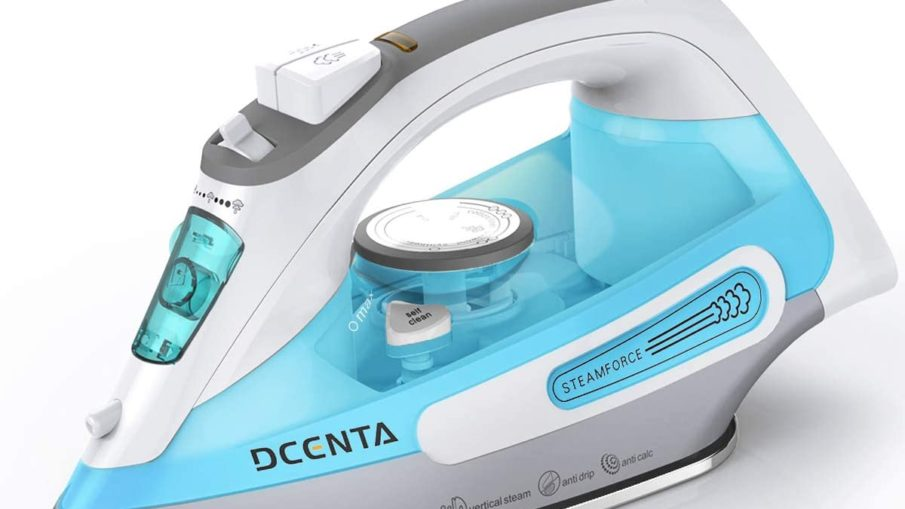 dcenta 1500w steam iron review