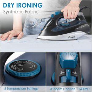 Decen Steam Iron Dry Ironing