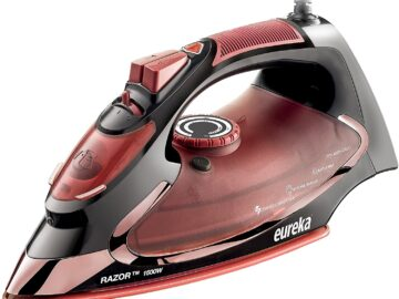 Eureka Razor 1500 Watt Steam Iron
