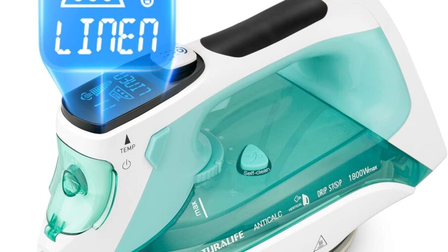Naturalife Steam Iron with LCD Display Review