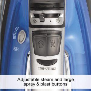 Steam, spray and blast