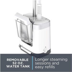 removable 52 oz. water tank