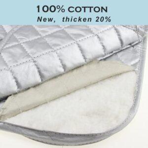100% cotton heat resistant pad