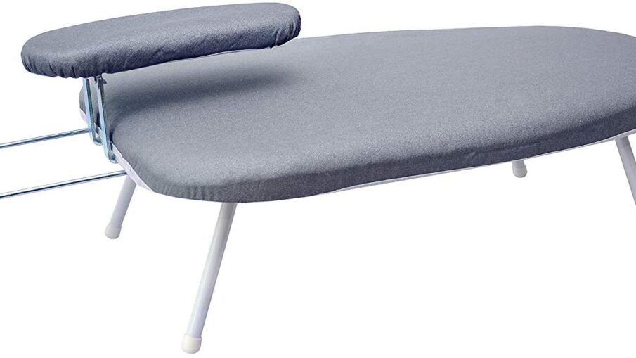 AKOZLIN Tabletop Ironing Board with Cotton Cover