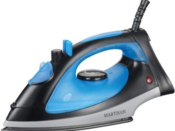 MARTISAN 1200 Watt Compact Steam Iron Review