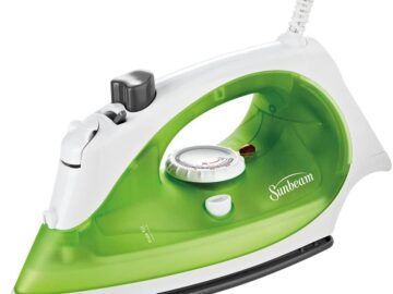 Sunbeam Simple Press Steam Iron Review