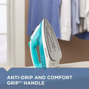 Anti drip and comfort handle