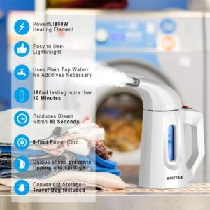 features of the MASTEAM Steamer for Clothes