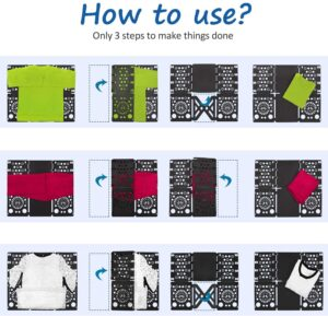 how to use a shirt folding board