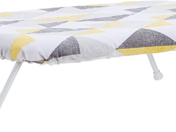 AmazonBasics Tabletop Ironing Board with Folding Legs