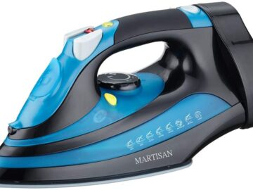 MARTISAN Steam Iron with Retractable Cord