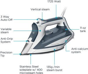Rowenta Professional DW5280 1725-Watts Steam Iron